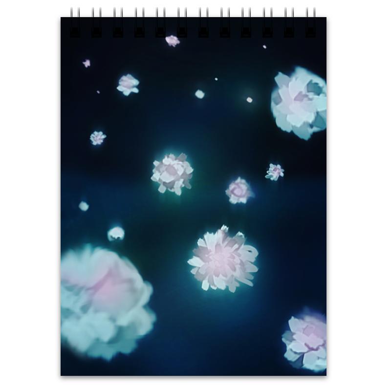 Блокнот Printio Волшебные цветы printio блокнот
