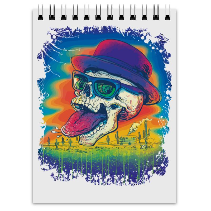 Блокнот Printio Skull heisenberg блокнот printio king skull