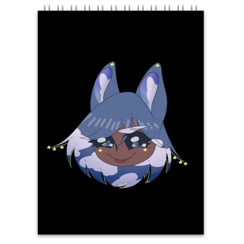 Блокнот Printio Блокнот с оригинальным персонажем хириша визз блокнот printio кошка