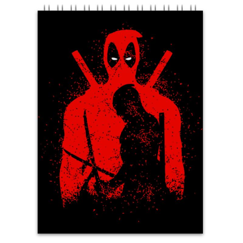 Блокнот Printio Deadpool блокнот printio прогулки по городу