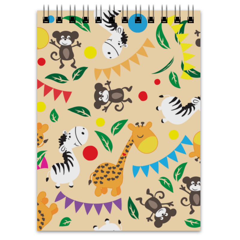Блокнот Printio Животные