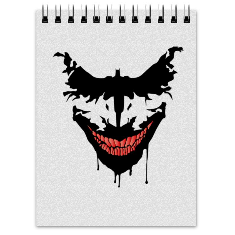 Блокнот Printio Джокер. бэтмен лонгслив printio джокер бэтмен
