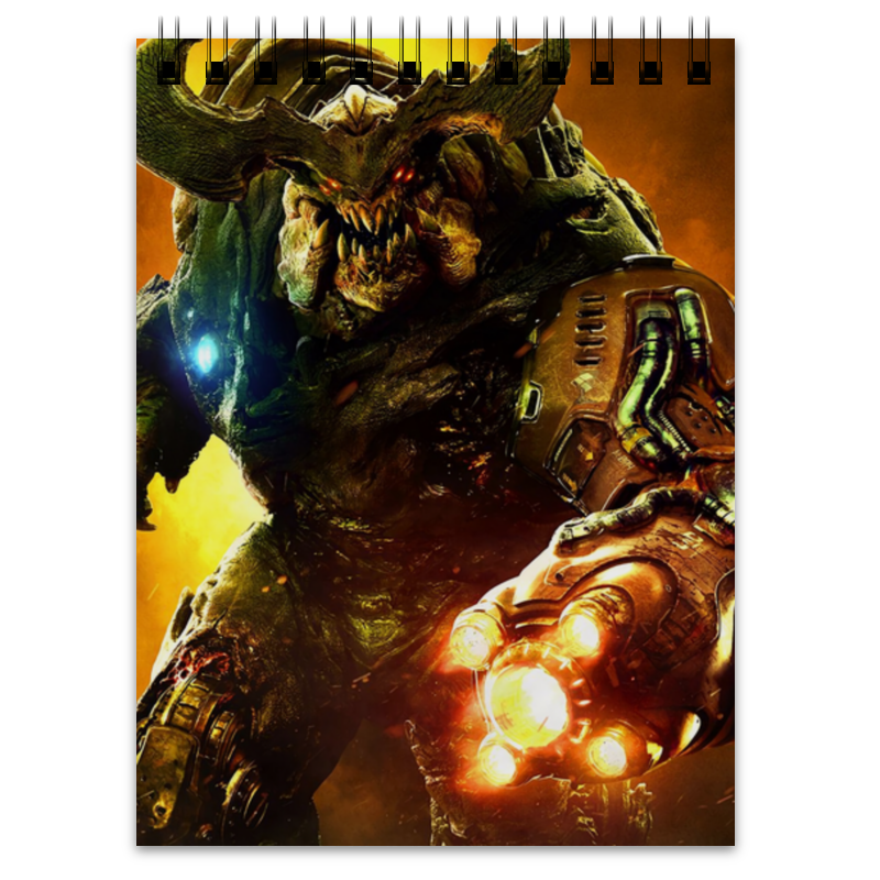 Блокнот Printio Doom 4