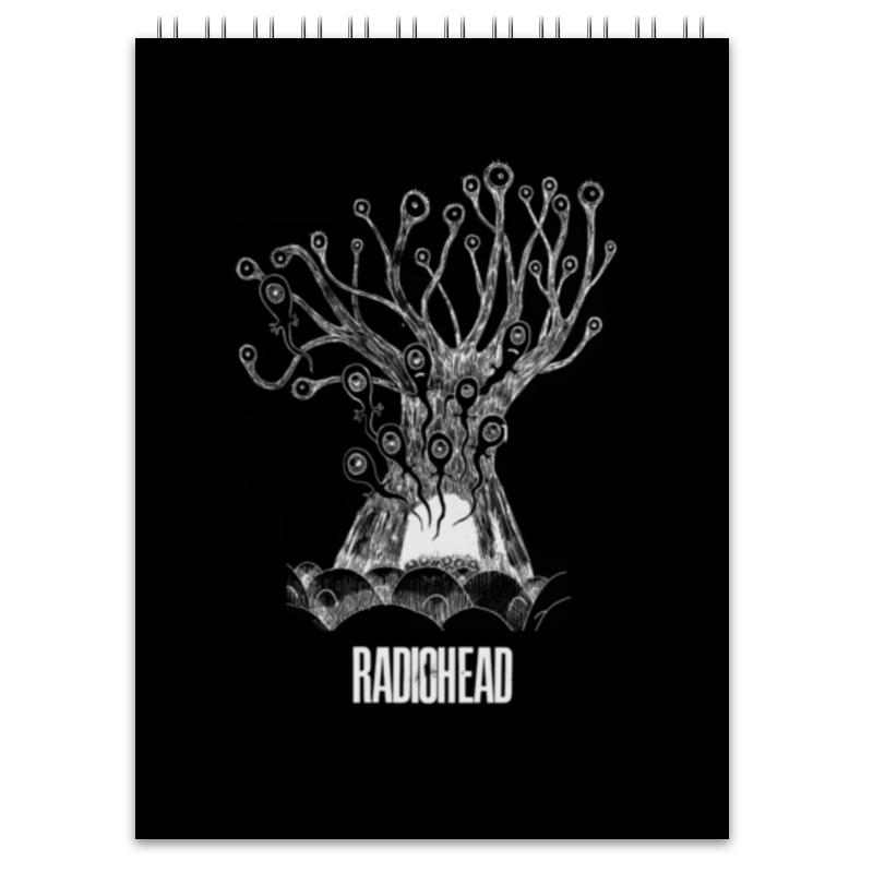 Блокнот Printio Radiohead cd из японии radiohead