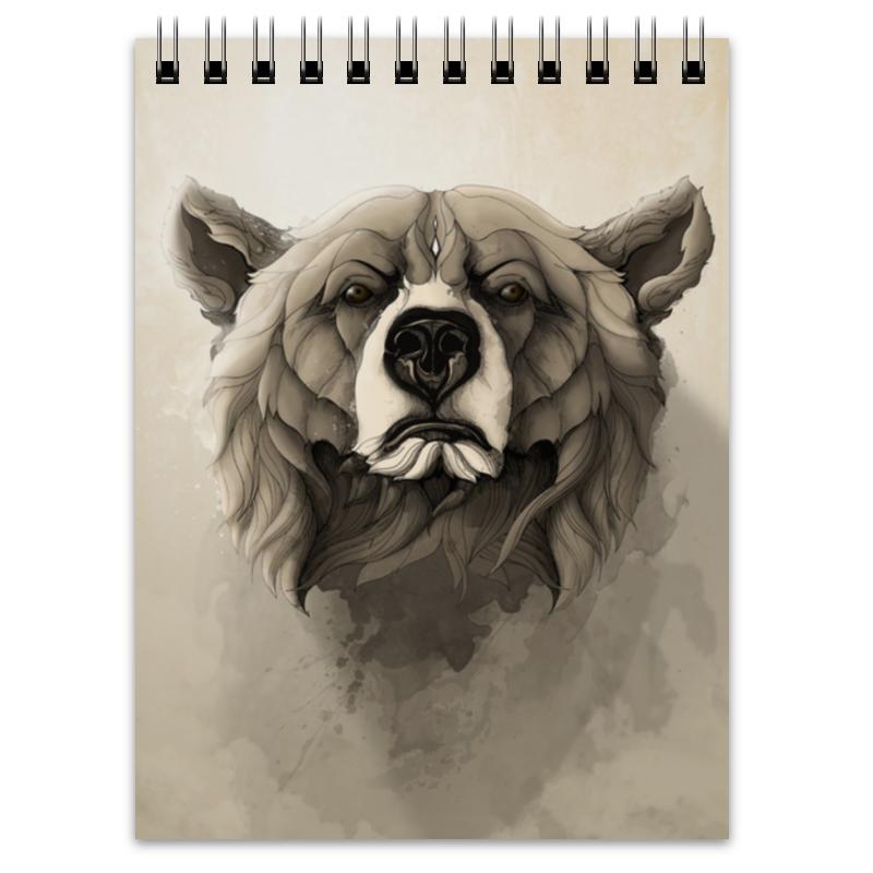 Printio Медведь блокнот printio русский медведь