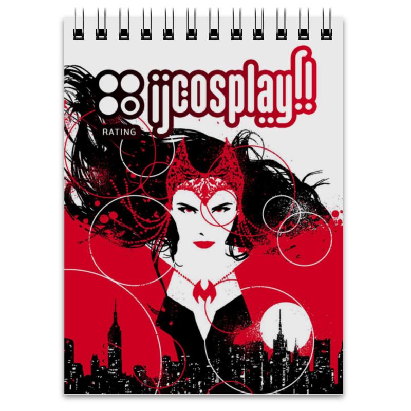 Блокнот Printio Red witch: ij cosplay