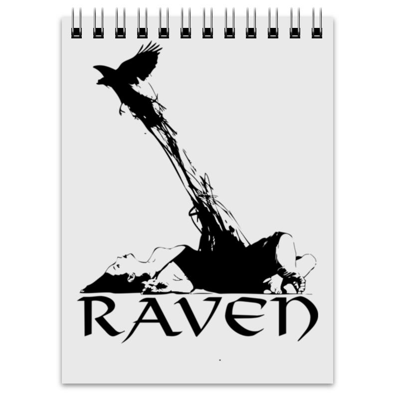 Блокнот Printio Raven brand блокнот printio портрет девушки