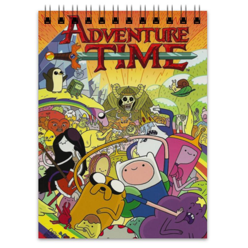 Блокнот Printio Adventure time блокнот printio цунами