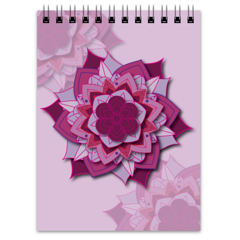 Блокнот Printio Блокнот sacred flower geometry блокнот falafel books a6 geometry 403782