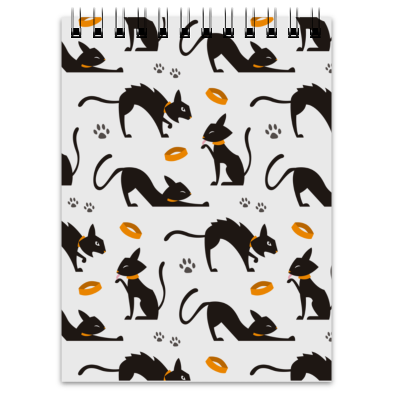 Блокнот Printio Чёрные кошки springway женские чёрные балетки