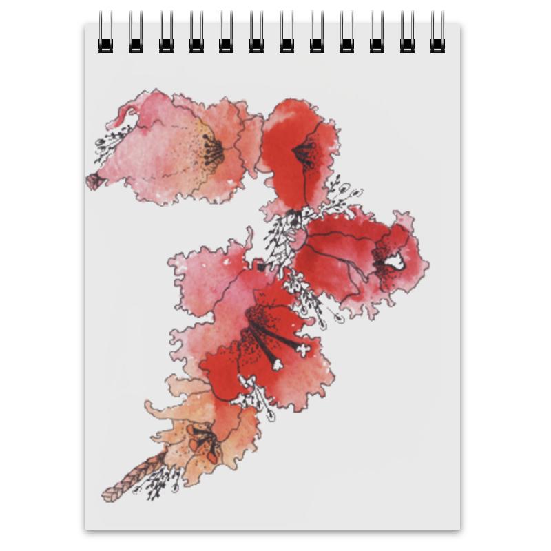 Блокнот Printio Цветы весны блокнот кофемана нежные цветы
