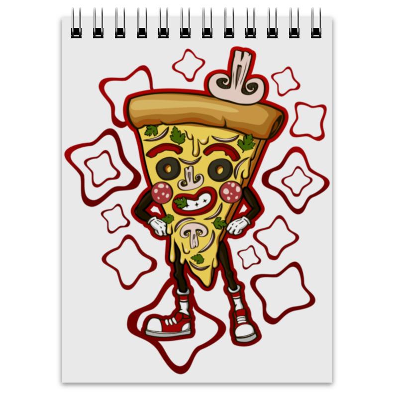 Блокнот Printio Мистер пицца магнит пицца с фруктами