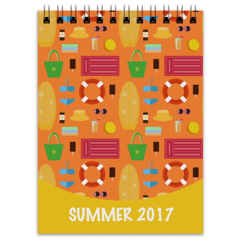 Блокнот Printio Лето 2017 блокнот printio блокнот ведьмочки