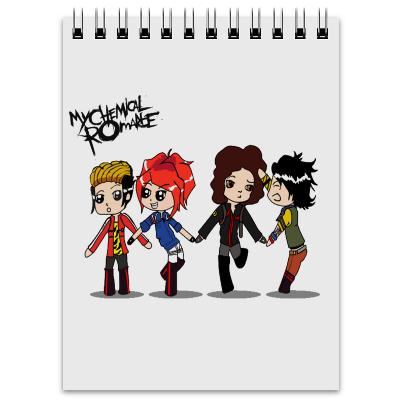 купить Блокнот Printio My chemical romance онлайн