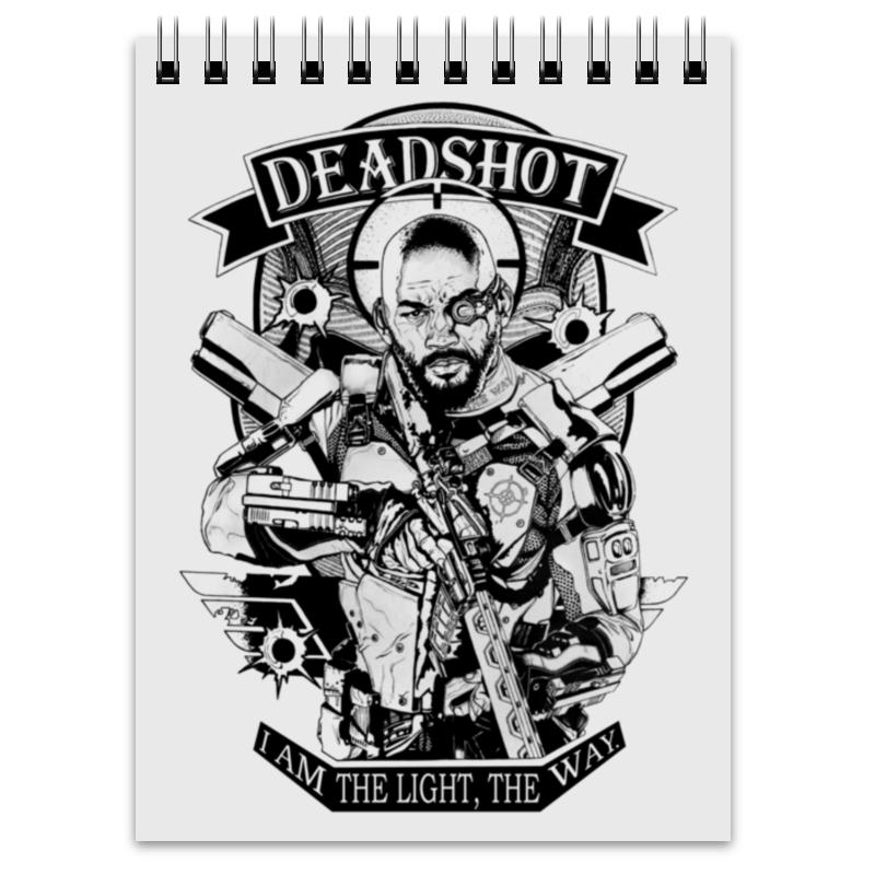 Блокнот Printio Deadshot deadshot bulletproof