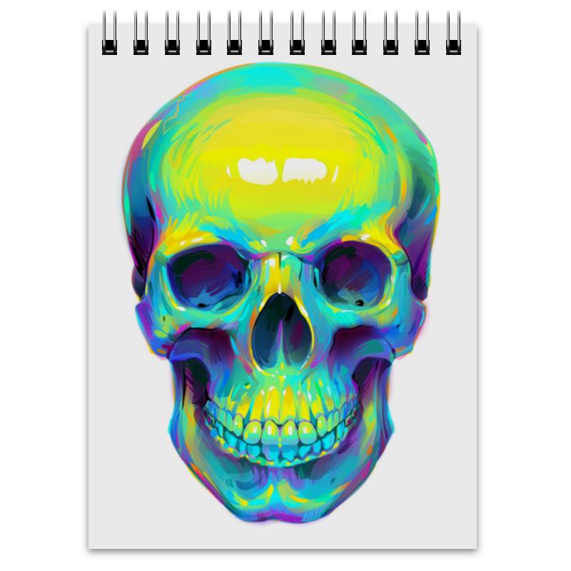 Блокнот Printio Colorfull skull блокнот printio king skull