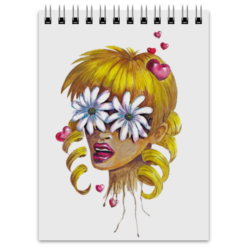 Блокнот Printio Без ума от цветов блокнот кофемана нежные цветы