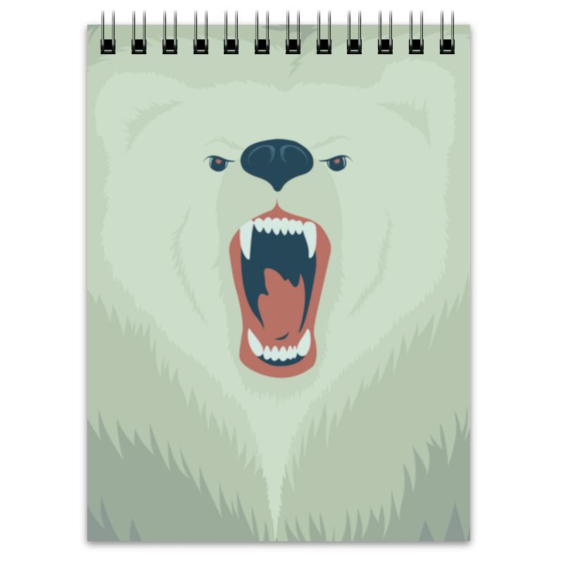 Блокнот Printio Медведь блокнот printio прогулки по городу