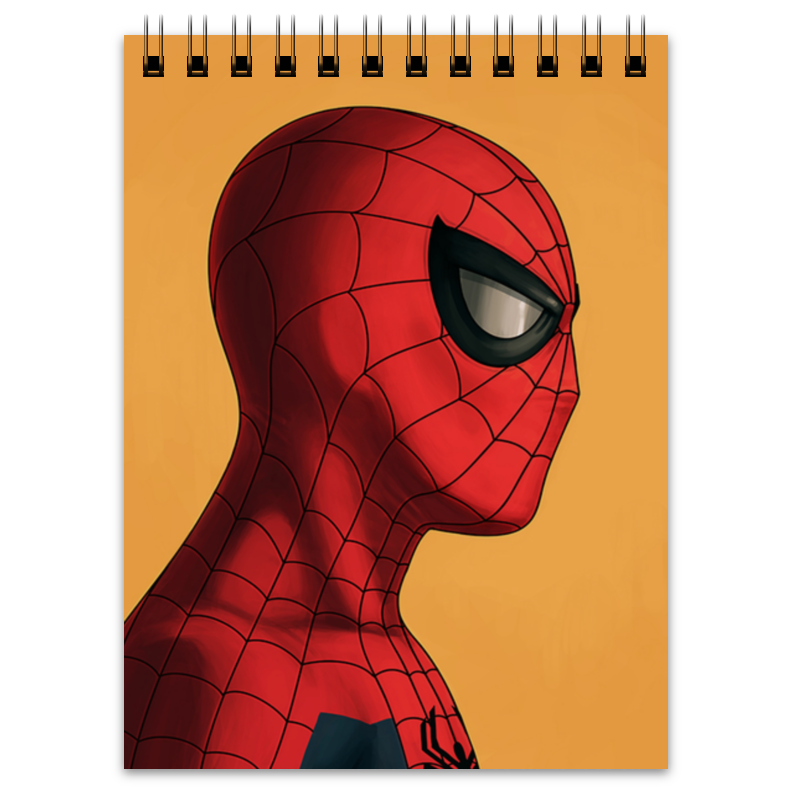 Блокнот Printio Человек-паук (spider-man) цена
