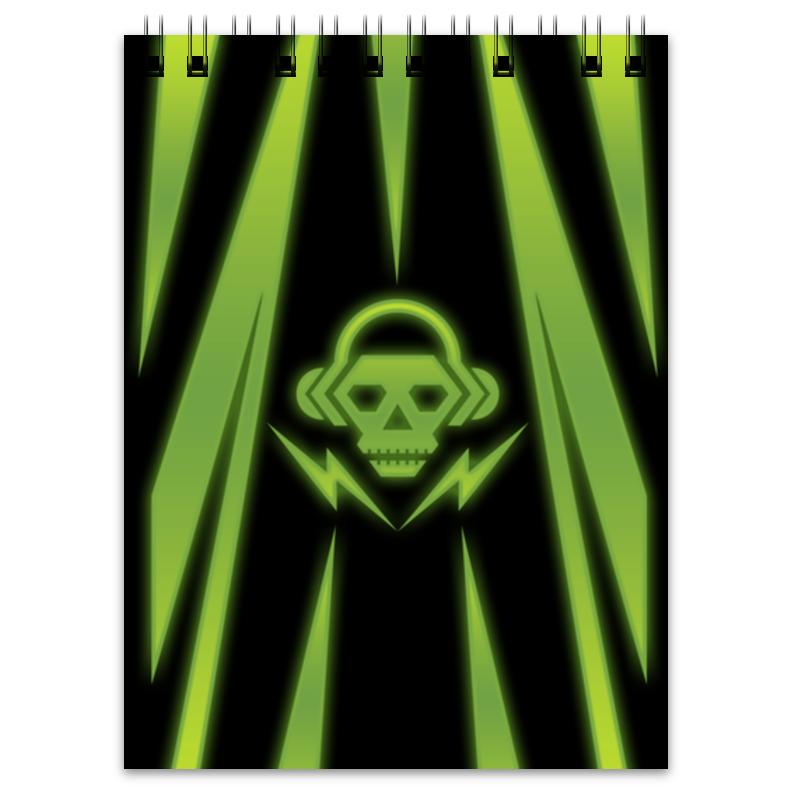 Блокнот Printio Skull худи print bar skull illumitans