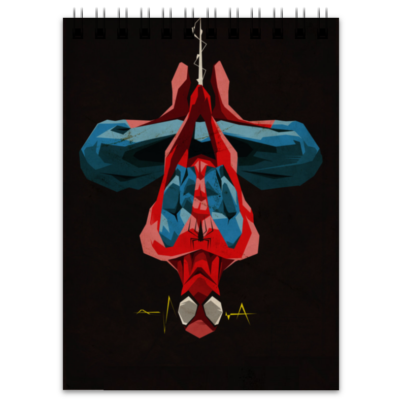 Блокнот Printio Человек-паук (spider-man) retro spider zinc alloy keychain bronze