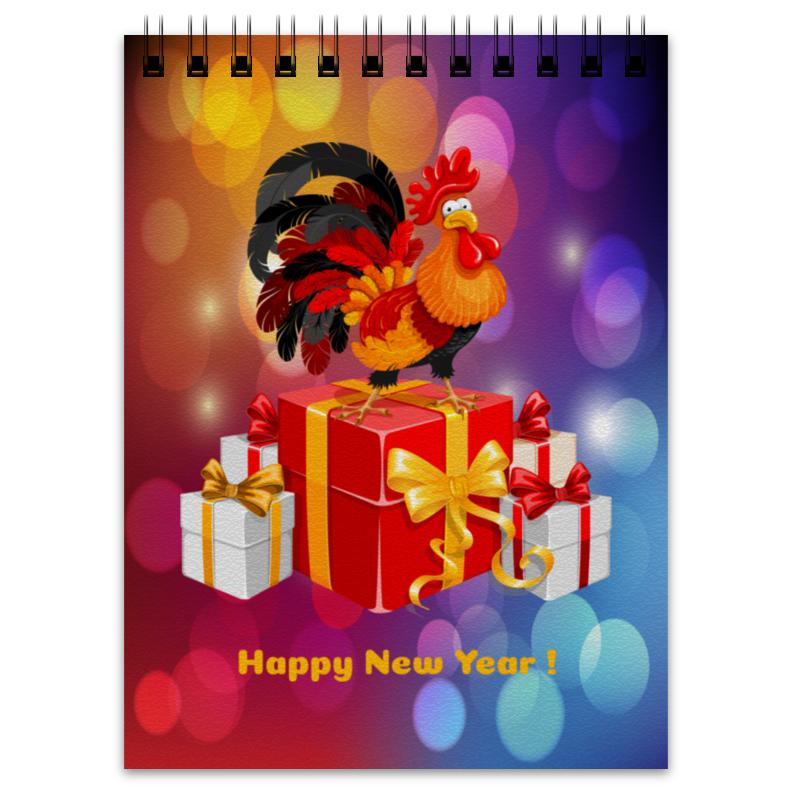 Блокнот Printio Новый год 2017 старый новый год с денисом мацуевым