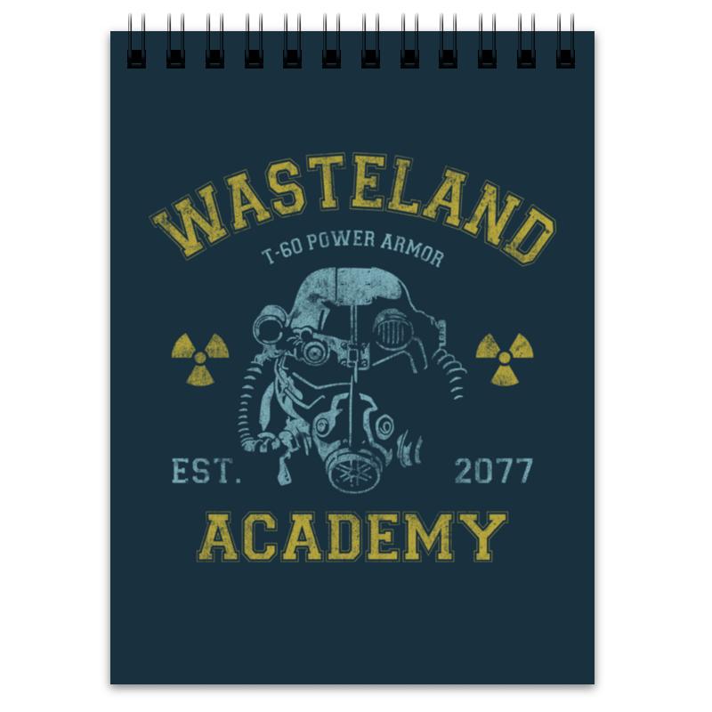 купить Блокнот Printio Fallout. wasteland academy