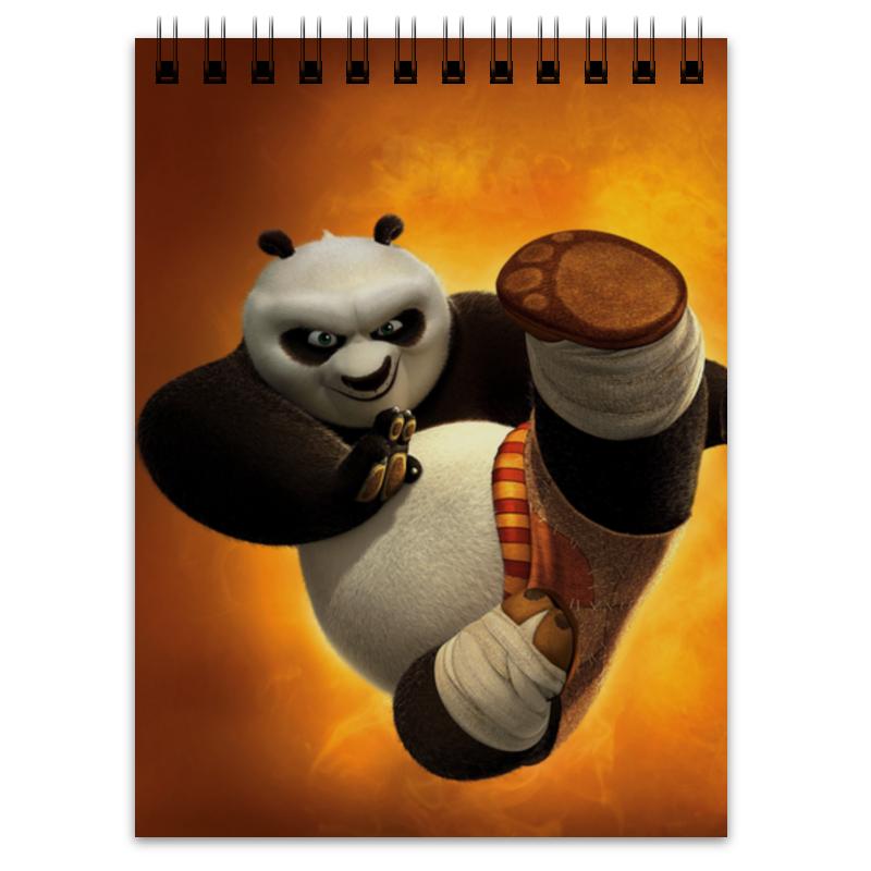 Блокнот Printio Кунг-фу панда дригс скот кунг фу панда неистовая пятерка