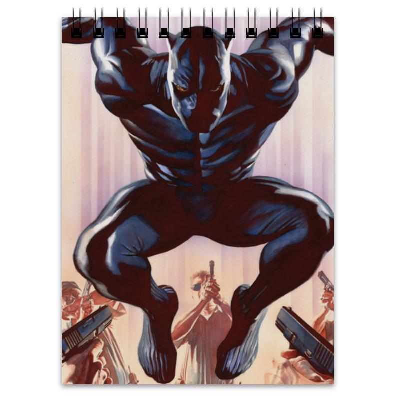 Блокнот Printio Черная пантера