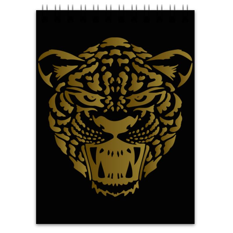 Блокнот Printio Леопард леопард 69