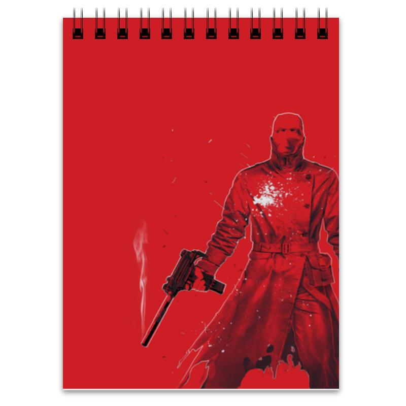 Блокнот Printio Красный колпак megir красный