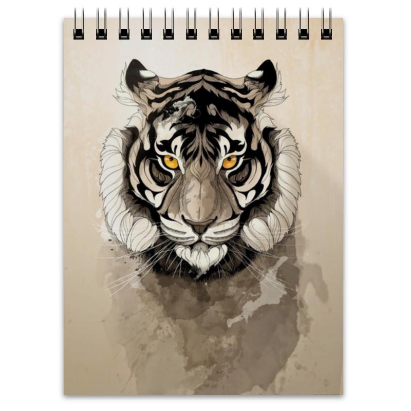 Блокнот Printio Тигр