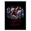 """Блокнот """"Клоун - i want to believe"""" - хэллоуин, клоун, i want to believe, clown, оно"""