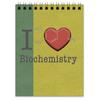 """Блокнот """"Для биохимиков"""" - сердце, любовь, английский, биохимия, biochemistry"""