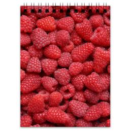 "Блокнот ""Малина"" - ягоды, малина, raspberry"