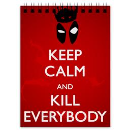 """Блокнот """"Дэдпул (Deadpool)"""" - комиксы, marvel, дэдпул, deadpoo, марве"""