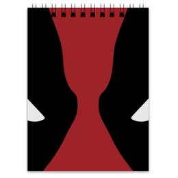 "Блокнот ""Дэдпул (Deadpool)"" - марвел, комиксы, дэдпул, deadpool"