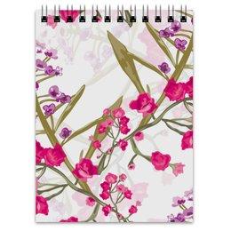 """Блокнот """"природа"""" - лето, цветы, весна, природа, цветочки"""
