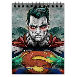 "Блокнот ""Супермен (Superman)"" - комиксы, superman, супермэн, dc comics, супс"