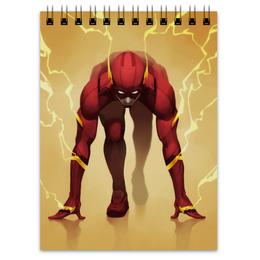 """Блокнот """"Флэш (Flash)"""" - flash, dc comics, флэш, лига справедливости"""