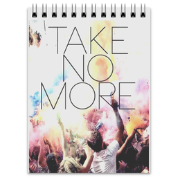 "Блокнот ""Take No More"" - 30 seconds to mars, echelon, 30 stm, take no more"