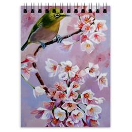 """Блокнот """"Весна"""" - весна, сакура, spring, sakura"""