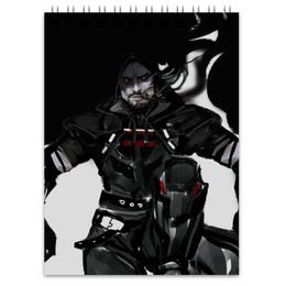 "Блокнот ""Жнец "" - blizzard, близзард, overwatch, reaper, овервотч"
