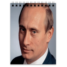 "Блокнот ""Путин"" - россия, russia, путин, putin"