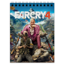 "Блокнот ""FARCRY4"" - игры, far cry, video games, farcry4, far cry 4, кират"