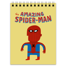"""Блокнот """"Человек-паук"""" - прикольные, комиксы, супергерои, spider man, человек паук"""