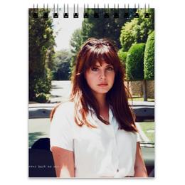 """Блокнот """"Lana Del Rey"""" - lana del rey, лана дель рей, honeymoon, природа"""