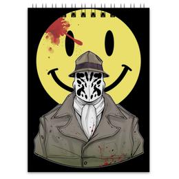 "Блокнот ""Роршах"" - хранители, dc comics, роршах, rorchach, watchmen"