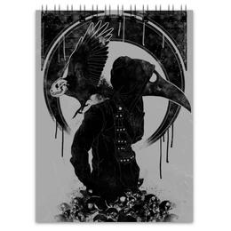 """Блокнот """"Чумной доктор"""" - skull, череп, death, смерть, plague doctor"""