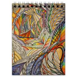 """Блокнот """"Тропик"""" - арт, графика, абстракция, акварель"""